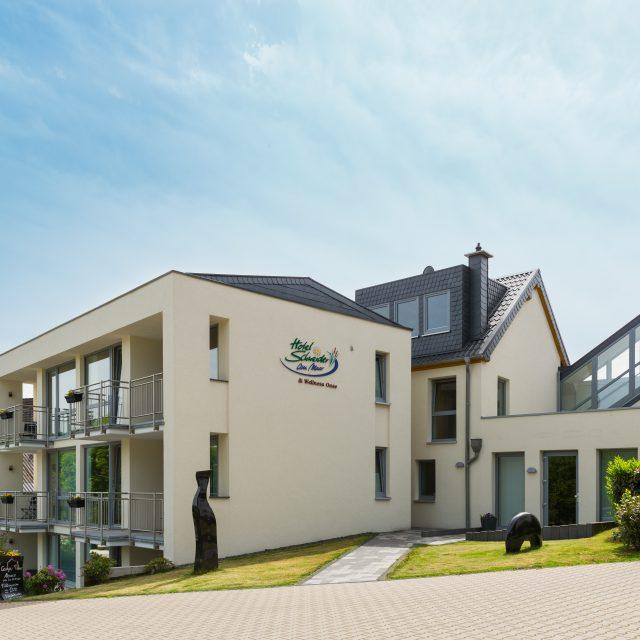 Neubau der Uhu Suiten