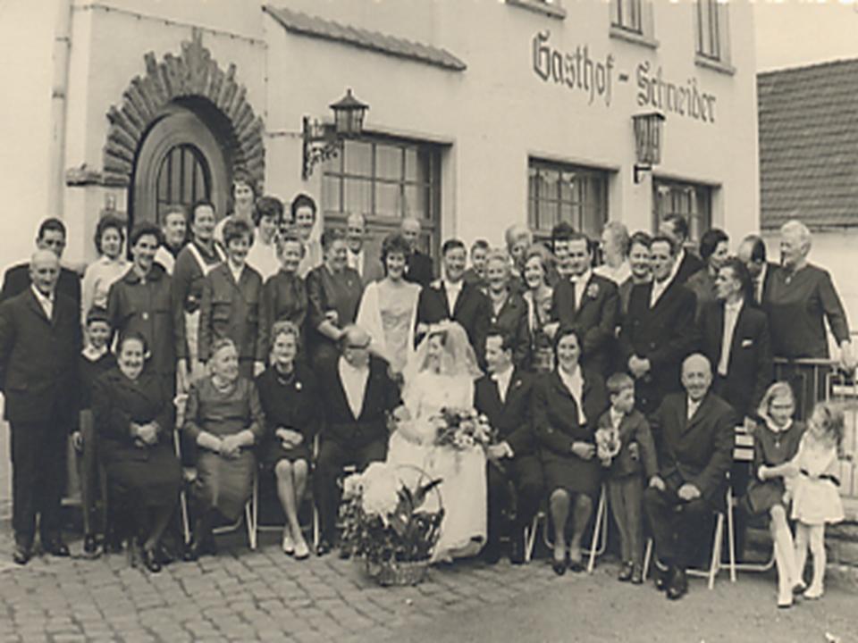 1963 Hochzeit Heinz Marianne