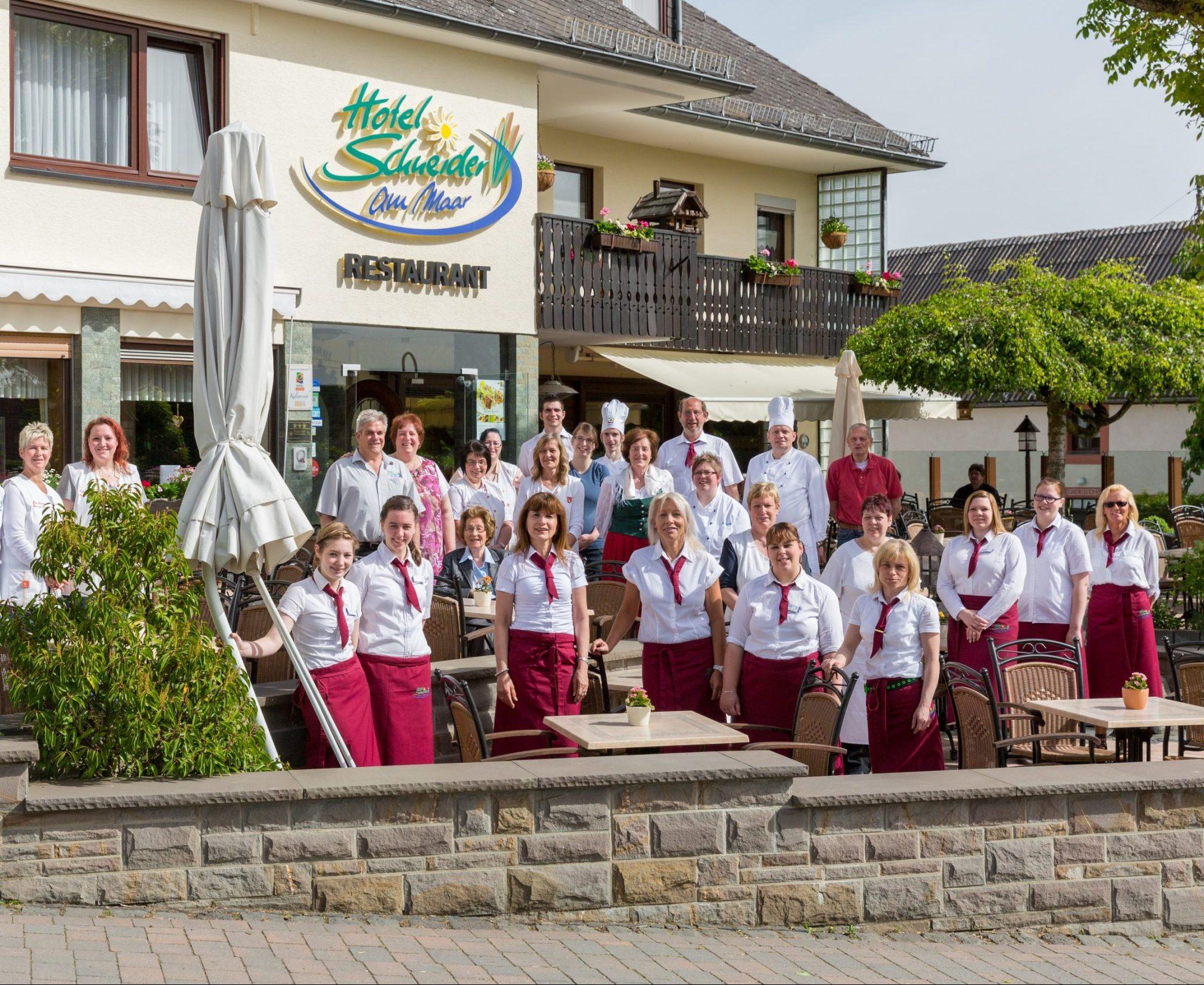 Das Hotel Schneider am Maar Team